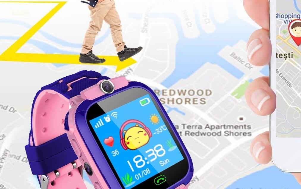 meilleure montre GPS pour enfant
