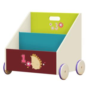 étagère de rangement pour enfant de la marque Labebe