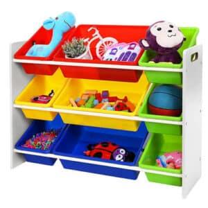 meuble de rangement pour jouets et livres de Songmics