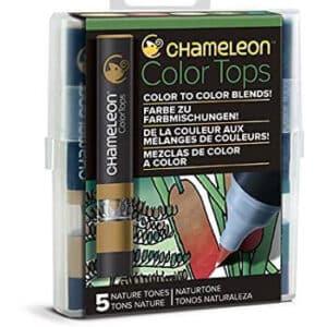 Lot de 5 accessoires pour feutres Chameleon Art Product CT4514