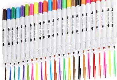 feutres de couleurs