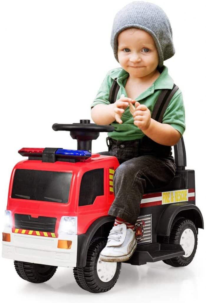 camion de pompier électrique pour enfant
