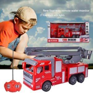 petit camion de pompier télécommandé
