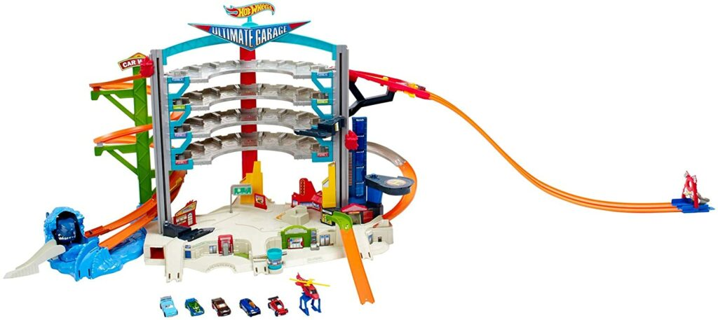 garage hot wheels en stock
