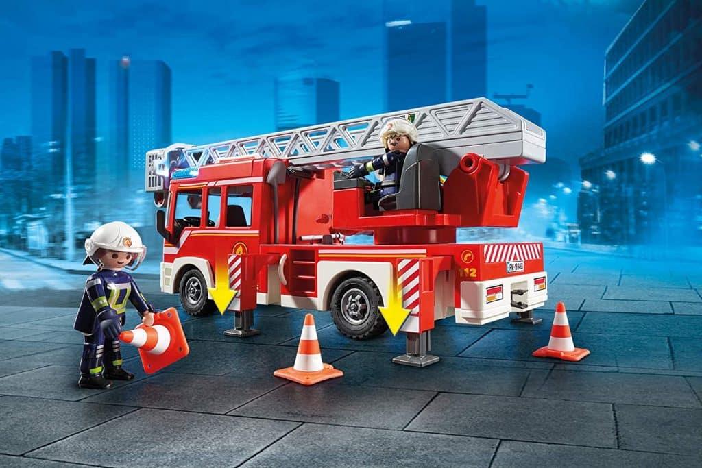 camion de pompier playmobil en stock