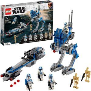 Lego Star Wars 75280 Les Clone troopers de la 501eme légion et le marcheur AT-RT
