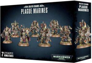 Le coffret Death Guard – Plague Marines de Games Workshop