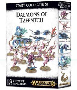 coffret Daemons of Tzeentch de Games Workshop